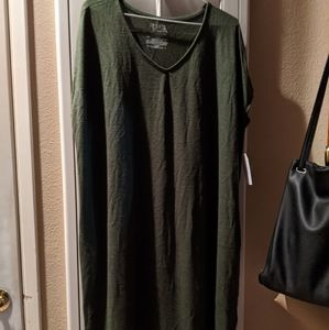 New Emerald Green Day/Night Gown - Size 16/18